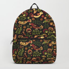 Folk Birds Backpack