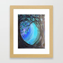 Into the Ice Framed Art Print