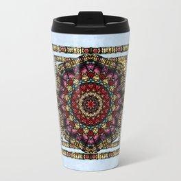 Angel Window Kaleidoscope Travel Mug