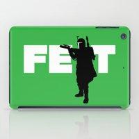 boba fett iPad Cases featuring Boba Fett by Vector Vectoria