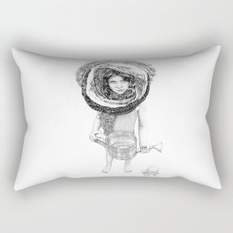 Nomads III Rectangular Pillow