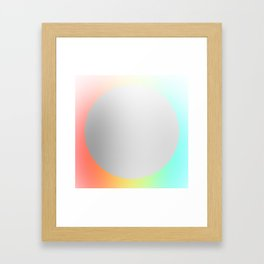 Subtle 1 Framed Art Print