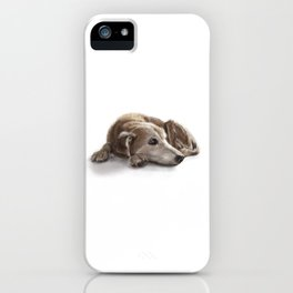 "Canna ""Missing You"" iPhone Case"