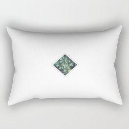 Subtly Flourishing - Square Rectangular Pillow