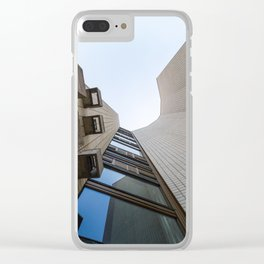 An Abstract Architectural Photograph Clear iPhone Case