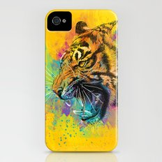 Angry Tiger iPhone (4, 4s) Slim Case