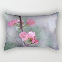 Chaenomeles Japonica Rectangular Pillow