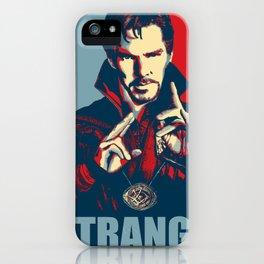 Obey Strange doctor iPhone Case
