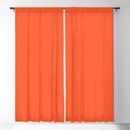 NOW EXUBERANT ORANGE solid color Blackout Curtain