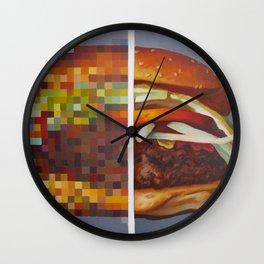 Hambuger food porn #1 Wall Clock