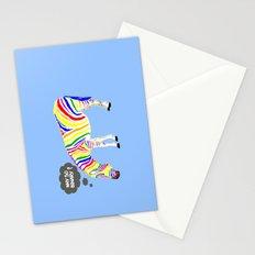 Rainbow Zebra Stationery Cards