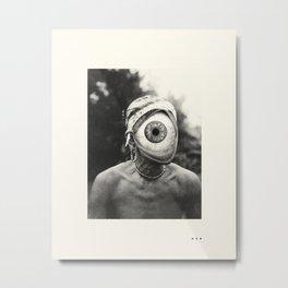 LOOK (1) Metal Print
