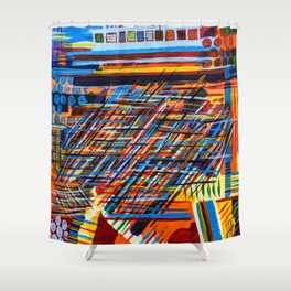 Wreaking Havoc Shower Curtain