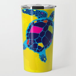 Paper Craft Sea Turtle Travel Mug
