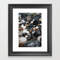 By the Beach Framed Art Print