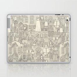 vintage halloween drab ivory Laptop & iPad Skin