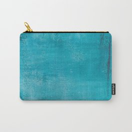 Believer of Blue - Acrylic painting Carry-All Pouch
