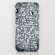 Skull Sketch Pattern iPhone 6s Slim Case