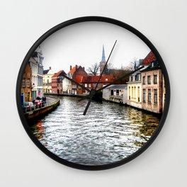 Brugge Wall Clock