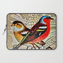 BRIGHT BIRDIES Laptop Sleeve
