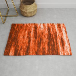 Bright texture of coated paper from brown flowing waves on a dark fabric. Rug
