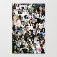 greys anatomy Canvas Prints featuring Greys Anatomy - Too Sassy for You by drmedusagrey