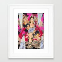 britney Framed Art Prints featuring Britney by GREATeclectic