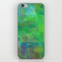 emerald iPhone & iPod Skins featuring Emerald  by Christy Leigh