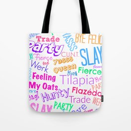 The Gay Thought Bubble Tote Bag