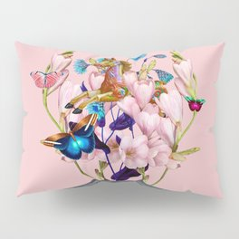 Moon Horse #collage Pillow Sham