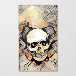 Love & death 2 Canvas Print