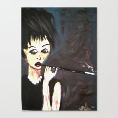 MANGGALIZED AUDREY Canvas Print