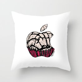 McTeconcha Throw Pillow