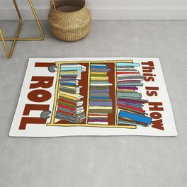 Library Gift for Librarians and Book Lovers  Product Rug