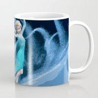 frozen elsa Mugs featuring Elsa   Frozen by EcaJT