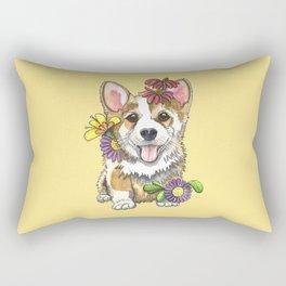 Corgi Cutie Rectangular Pillow