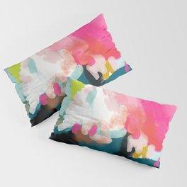pink sky Pillow Sham
