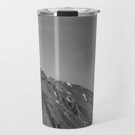 California's Sierra Mountains - B & W Travel Mug