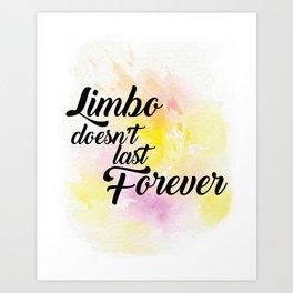 The Art of Limbo Art Print