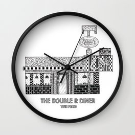 Twin Peaks - The Double R Diner Wall Clock