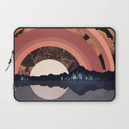 Forest Night Reflection Laptop Sleeve