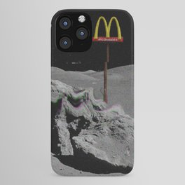 Mcdonalds aesthetic vhs iPhone Case