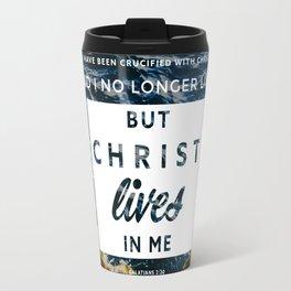 Galatians 2:20 Travel Mug