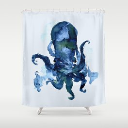 Oceanic Octo Shower Curtain