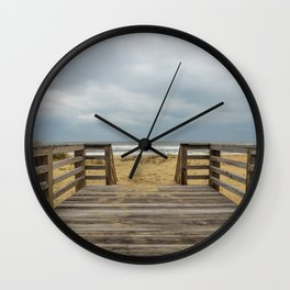 Draw me into the Sea Wall Clock
