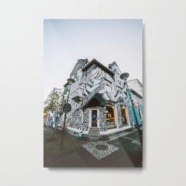 Reykjavik Street Art Metal Print