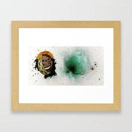 Lune indienne Framed Art Print