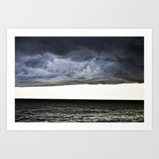 Sky and Ocean Art Print