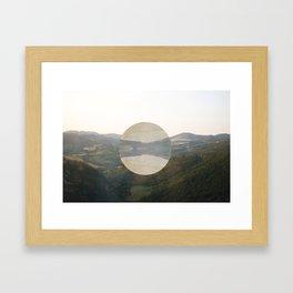 middle life. Framed Art Print
