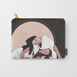 Pink Friends Carry-All Pouch